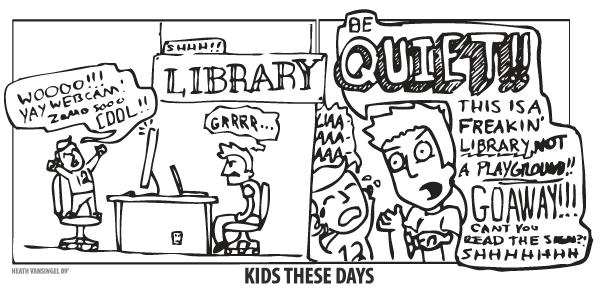 Cartoon: Kids These Days