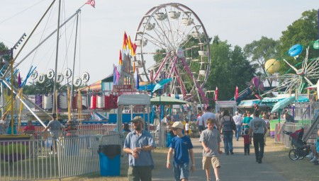 Fun For All : The Mecosta County fair offers rides, games, food and activities for people of all ages to enjoy. The county fair will run July 8 - July 13 this summer. Photo by Brock Copus | Multimedia Editor