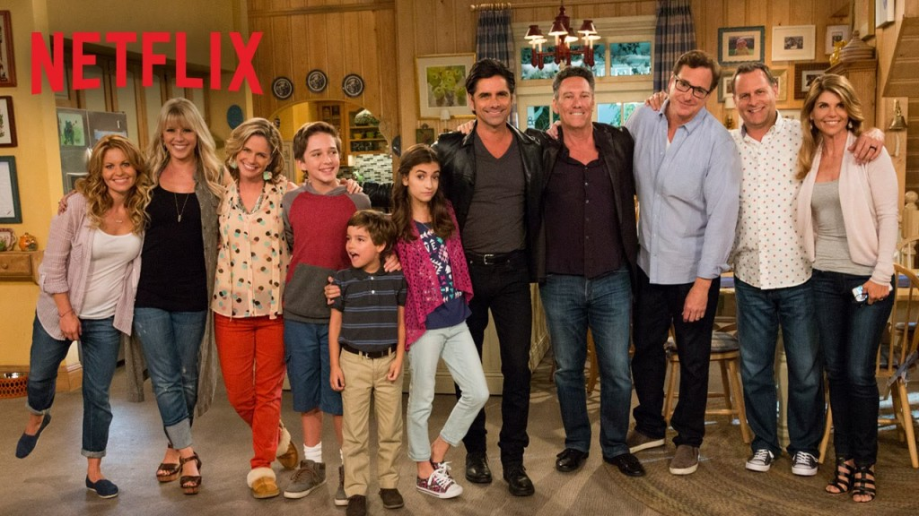 """Fuller House"" is a Netflix-only spinoff of the series ""Full House"" that aired from 1987-1985."